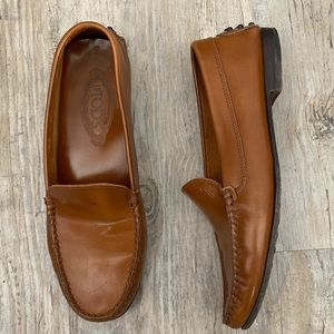 Vintage Tod's Driving Loafer Hand Made Shoe 7.5